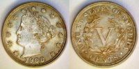 Five Cents 1900 5c