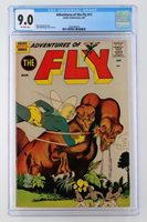 Adventure of the Fly #11 - CGC 9.0 VF/NM - Archie 1961 - HIGHEST GRADE!!!