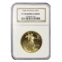 2006-W $50 Gold Eagle NGC PF70UCAM