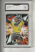 Josh Bell, 2018 Topps Fire (Pirates), ROOKIE!!! Gem Mint 10