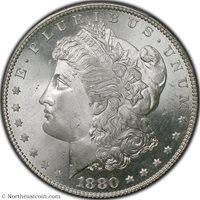 1880-S Morgan Dollar PCGS MS67 Morgan Dollar