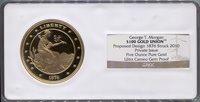 1876 (2010) $100 Gold Union Territorial Gold NGC Gem Proof UCAM Territorial Gold