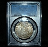 1811 CAPPED BUST HALF DOLLAR ✪ PCGS MS-63 ✪ 50C LARGE 8 UNCIRCULATED ◢TRUSTED◣