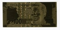 Nelson Mandela 24 Karat R100 note Reproduction - Great