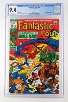 Fantastic Four #89 -NEAR MINT- CGC 9.4 NM - Marvel 1969 - Mole Man App!