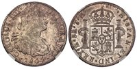 MEXICO Charles IV 1807 TH AR 8 Reales NGC MS62 KM 109 Minor planchet defects