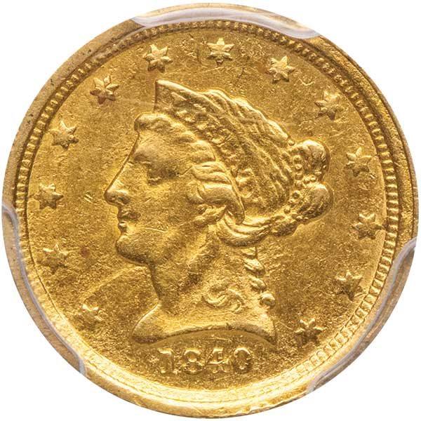 1840 C Pcgs Au58