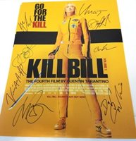 Kill Bill Cast Autographed 11x14 Photograph