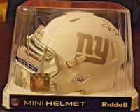 Riddell ICE Mini NFL NY Giants CB Janoris Jenkins Autograph Mini Helmet PSA DNA