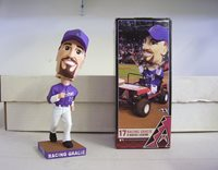 "Mark Grace ""Racing Gracie"" 2011 Arizona Diamondbacks Bobble Bobblehead SGA"