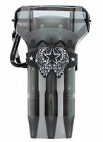 LSTYLE Krystal ONE Dart Case - Simple, Sleek and Customizable - Clear Black