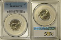 2011 P Jefferson Nickel 5c PCGS MS67FS Full Steps