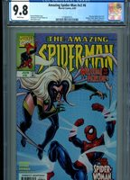 AMAZING SPIDERMAN V2 #6 MT 9.8 CGC WHITE PAGES BYRNE COVER AND ART DOC OCK APP.