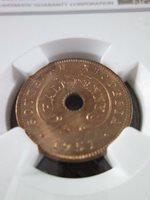 Southern Rhodesia 1/2 Penny 1951 NGC MS 65 RD