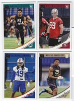 2018 Panini Donruss Football Base ROOKIES #351-400 Complete Your Set YOU PICK!