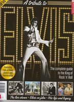 TRIBUTE TO ELVIS PRESLEY MAGAZINE BOOKLET 2017 FUTURE PUBLISHING