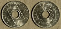 British West Africa : 1/2 P 1949H Gem BU # 27 IR1060