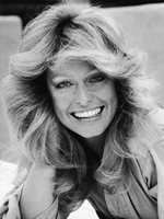 FARRAH FAWCETT CHARLIE'S ANGEL YOUNG CLOSE UP GLOSSY PICTURE 8x10 PHOTO