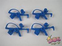 1991 Playmates Teenage Mutant Ninja Turtles Lieutenant Leo Tin Can Launcher (62TCL)