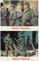 Kelly's Heroes 1970 U.S. Scene Card Set of 2