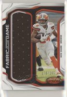 2019 Certified Fabric of the Game /299 Nick Chubb #FG-NC