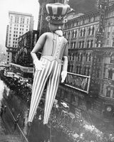 Macy's Thanksgiving Parade Uncle Sam 8x10 Silver Halide Photo Print