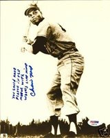 Autographed Charlie Neal Photograph - Dodgers 8x10 COA - PSA/DNA Certified - Autographed MLB Photos