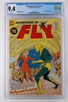 Adventures of the Fly #9 - CGC 9.4 -Archie 1960- 1st App of Cat Girl - HIGHEST!