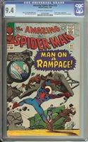 Amazing Spider-Man #32 CGC NM 9.4 Off-White to White