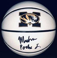 PSA/DNA Missouri Tigers MICHAEL PORTER JR Signed Autographed Basketball #1 RANK