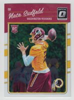 NATE SUDFELD 2016 Donruss Optic Football Rookies #130 Redskins