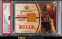 2006 Upper Deck Hardcourt Michael Jordan FLOOR PATCH #GF-8 PSA 9 MINT (PWCC)
