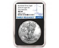 2020 $1 American Silver Eagle NGC MS70 FDI ALS Label