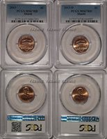 2013 P & D Lincoln SHIELD Cent 2 Coin Set 1c PCGS MS67RD