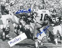 Karl Kassulke and Mike McGrill Minnesota Vikings Autographed Signed 8x10 Photo COA