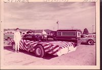 "Cottner #18 ""Old Glory"" Stock Car 1971-Auto Racing Photo"