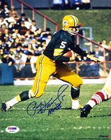 Paul Hornung SIGNED 8x10 Photo + HOF 86 Green Bay Packers PSA/DNA AUTOGRAPHED