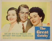 The Great Gatsby 1949 U.S. Scene Card