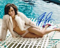 Paula Patton In-person Autographed Photo Great color photo Autographed by this American actress known for Hitch, Warcraft, Deja Vu, Mission: Impossible – Ghost Protocol, 2 Guns and Precious.