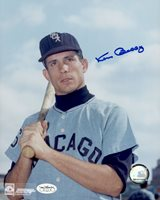 1962-70 Chicago White Sox Ken Berry Autographed 8x10 Color Photo JSA Hologram