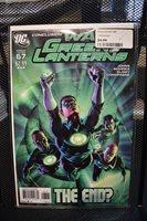 Green Lantern #67 J.G. Jones War of Green Lanterns Variant DC Geoff Johns 9.2