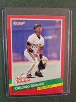 1991 Donruss Rookies #22 -- Orlando Merced -- Pirates
