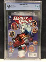 CBCS GRADED 8.5 2016 DC COMICS HARLEY QUINN #26 1ST APP RED TOOL