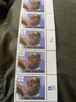 32 Cent Louis Armstrong USA Stamps (5)