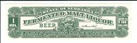 Nebraska: Beer Tax Stamp, B36, mint.