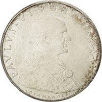 Vatican, Paul VI, 500 Lire 1965, KM 83.2