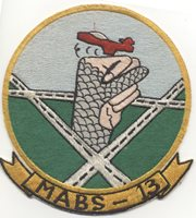 Korean War Japanese-Made US Marine Corps MABS-13 Jacket Patch