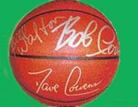 Boston Celtics Legends Basketball Hand-Signed Basketball With Certificate Of Authenticity