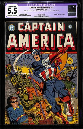 captain america comics 17
