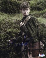 Thomas Brodie-Sangster SIGNED 8x10 Photo Game of Thrones PSA/DNA AUTOGRAPHED